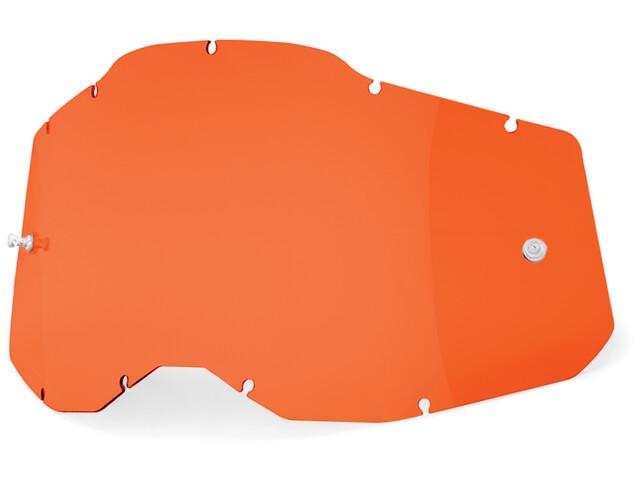 100% Anti-Fog Replacement Lenses Gen2, orange/clear